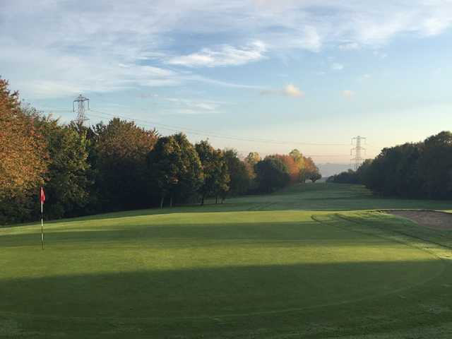 The Bradley Park golf course