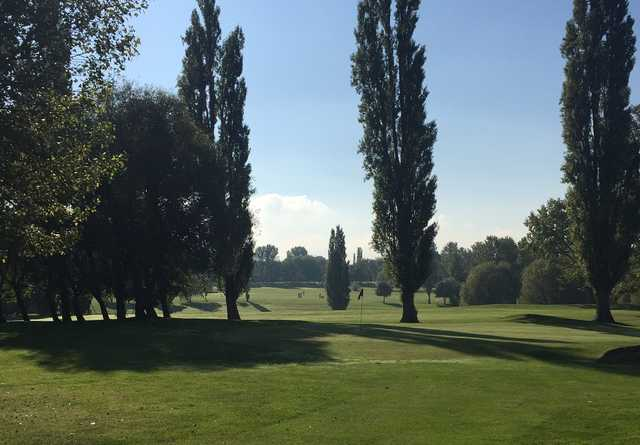 A view from the Queens Park Golf Course