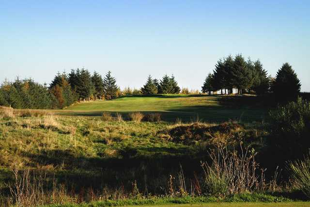 The testing rough graound of the Paisley Golf Course