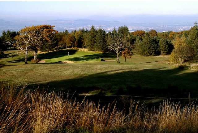 A landscape view of the Paisley golf course and surrounding area