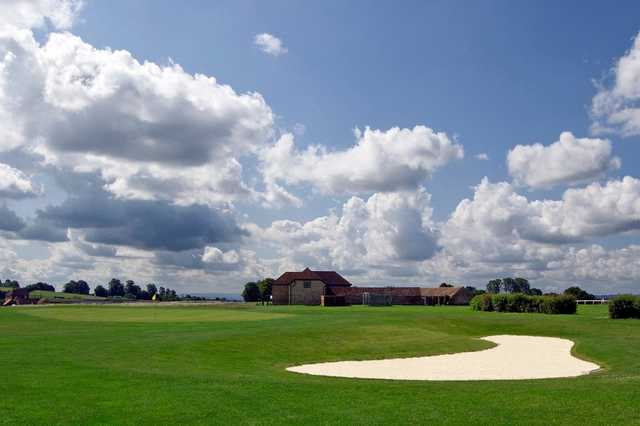 A landscape view of the Wincanton Golf Course