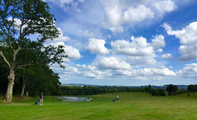 Fairway on the Bovey Tracey Golf Course