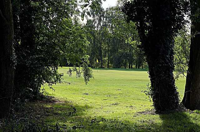 A tree view image of the Springhead Park Golf Course
