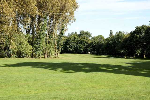 The fairway at Springhead Park Golf Course