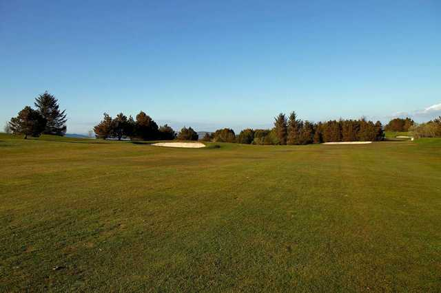 The 10th fairway at Port Glasgow Golf Club