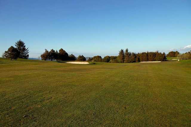 The 10th fairway at Port Glasgow Golf Club