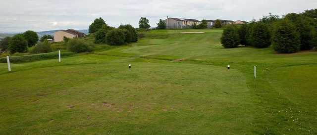 The 1st hole at Port Glasgow Golf Club