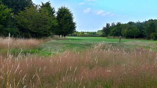 A fairway on the Wheathill golf course