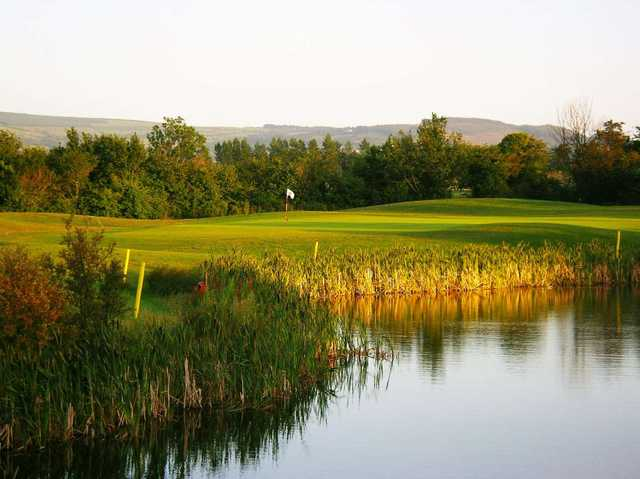 The 10th hole at Grange Castle Golf Club