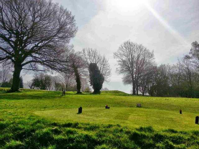 Alton Golf Club on a clear day