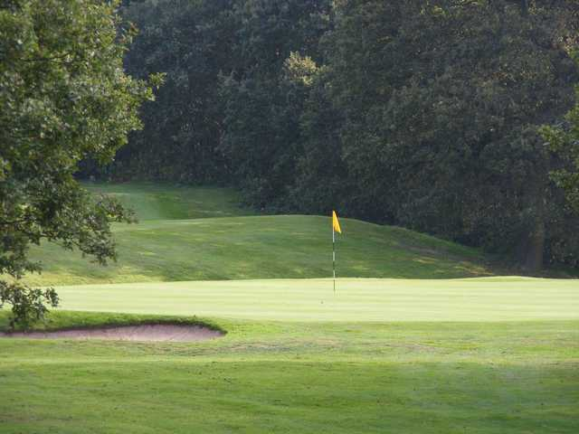 A look at the lush greens at Crewe Golf Club