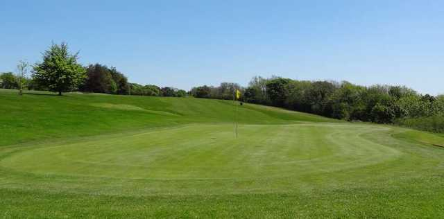 Hole 4, The Mendip Golf Club