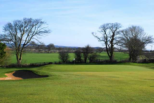 A view of hole #3 at Workington Golf Club