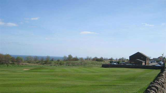 The clubhouse at Whitburn Golf Club