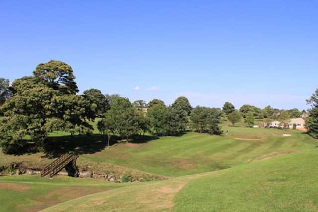 The Double green is the 15th hole of the Uphall Golf Course