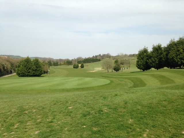 View from Etchinghill Golf Club