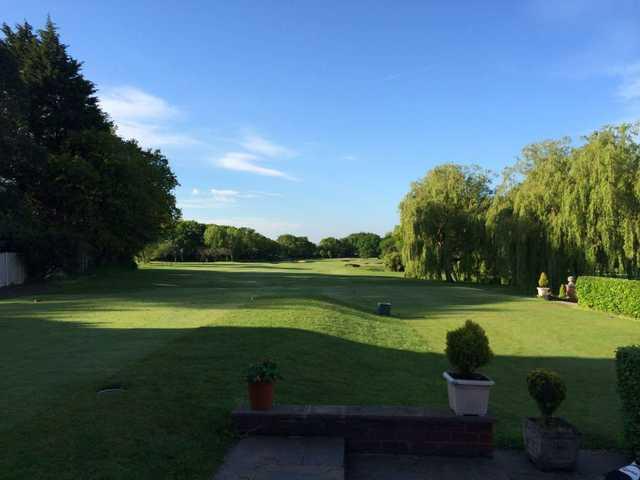 The 1st hole at Prenton Golf Club