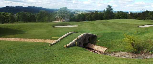 The 9th hole at Kilsyth Lennox Golf Club