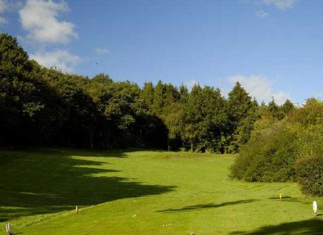 Builth Wells, the parkland golf course
