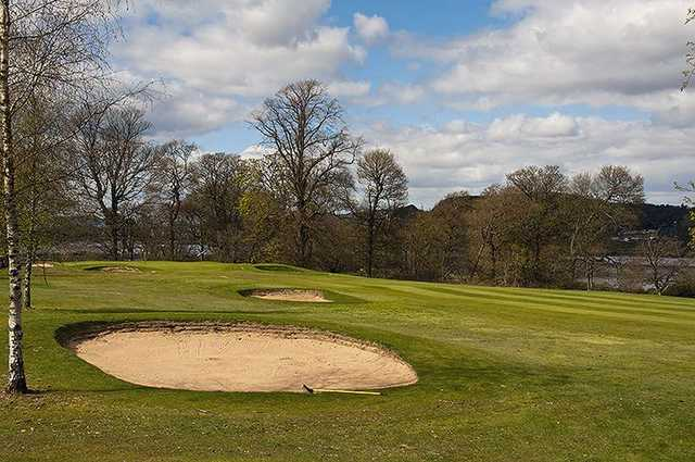 The 3rd hole at Erskine Golf Club
