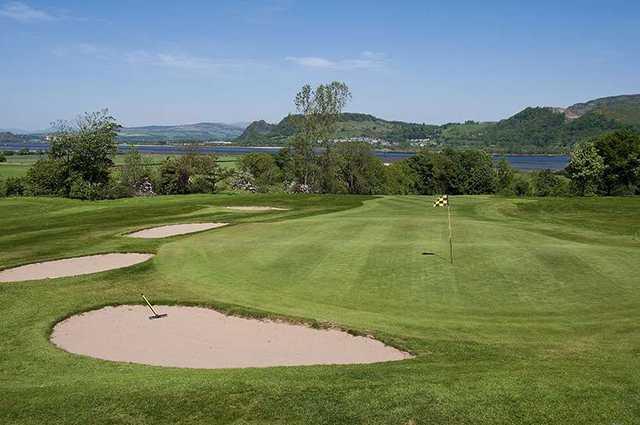 The 18th hole at Erskine Golf Club