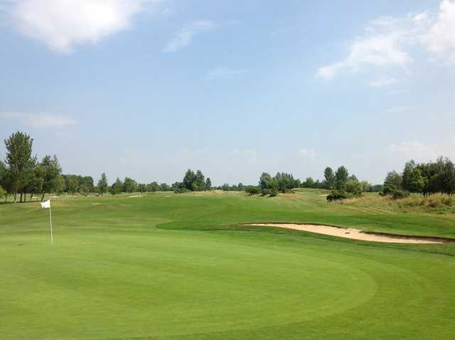 View from Stratford Oaks Golf Club