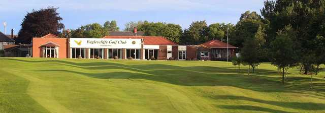 The clubhouse at Eaglescliffe Golf Club