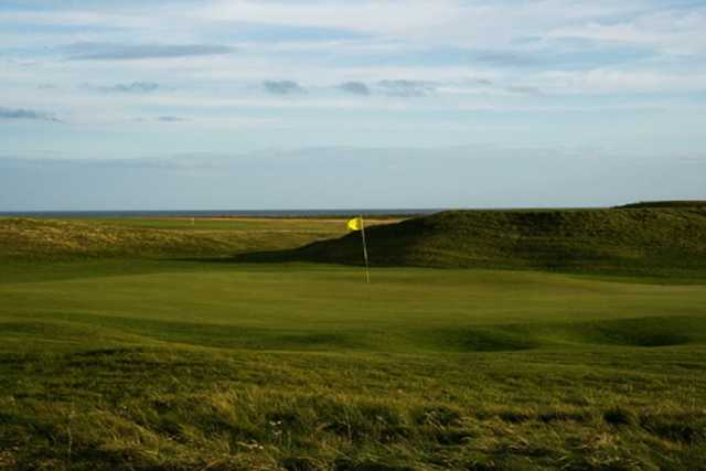 A tempting sea view over the Newbiggin golf course