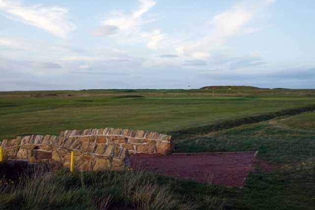The Newbiggin golf course