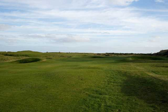 Fairways on the Newbiggin golf course
