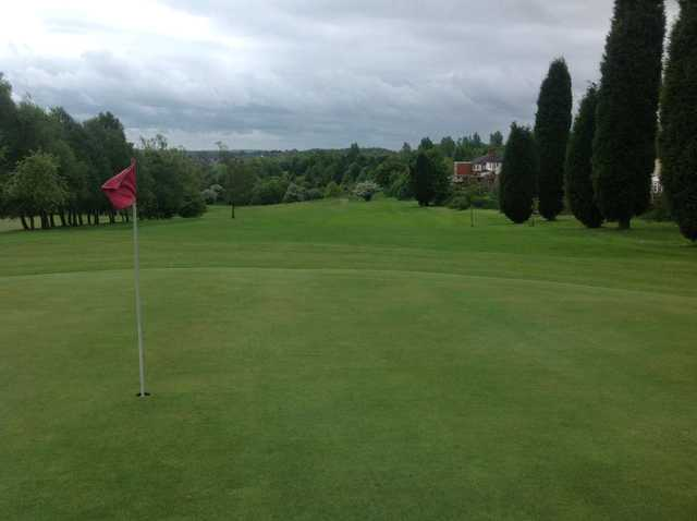 The 9th hole at Burslem Golf Club