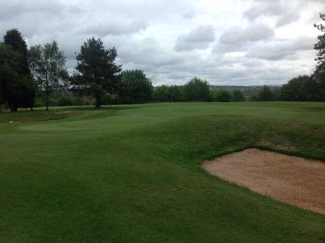 The 3rd green at Burslem Golf Club