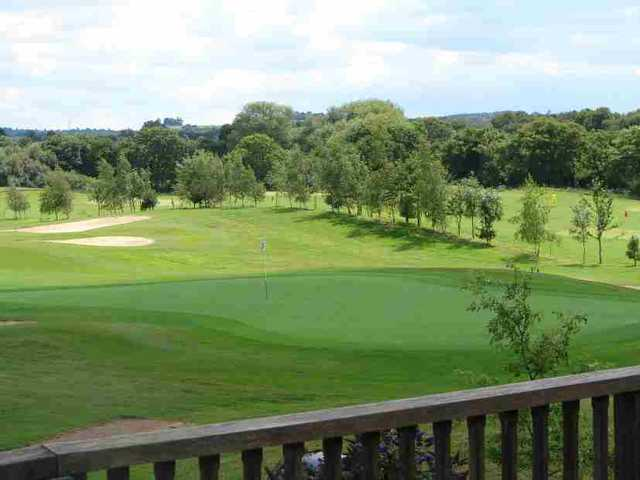 A view of the course