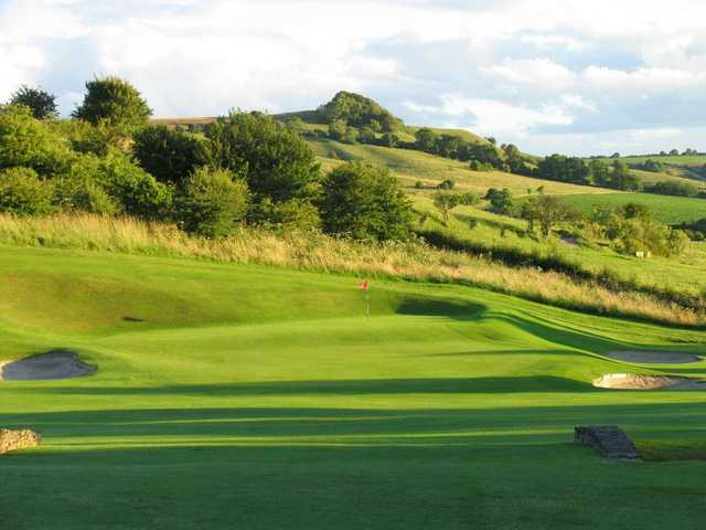 The 13th green at North Wilts Golf Club