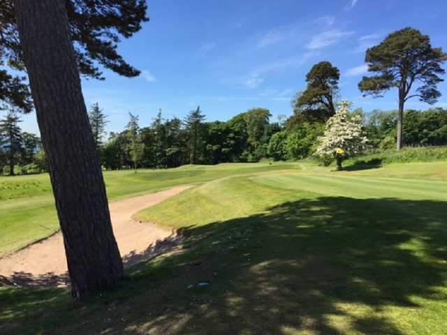 The 4th golf green on the Charleton Golf Course