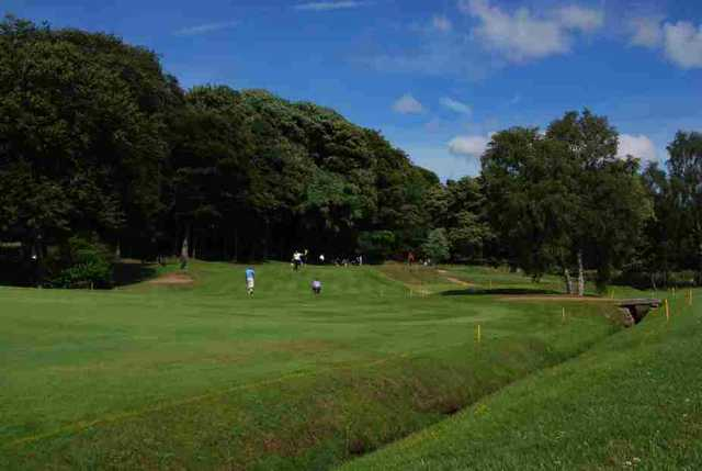 The 13th green at Pitreavie