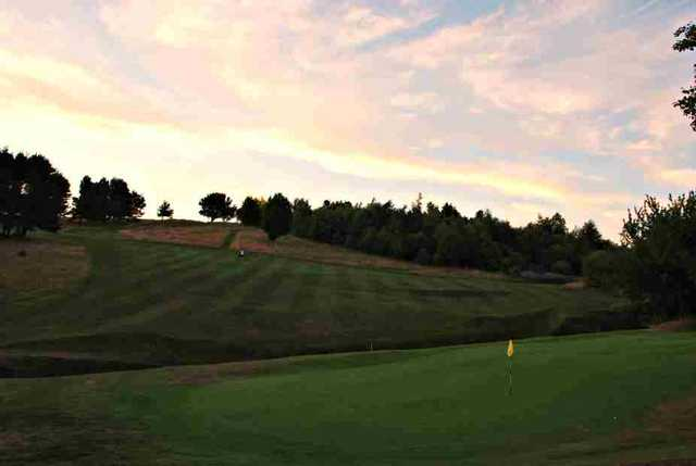 The 12th hole at Pitreavie