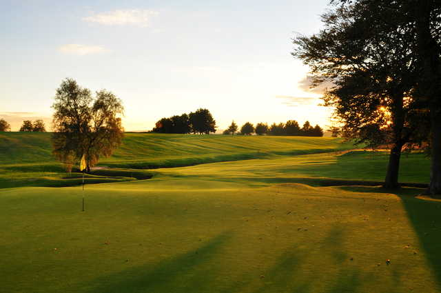 The 13th hole at Pitreavie