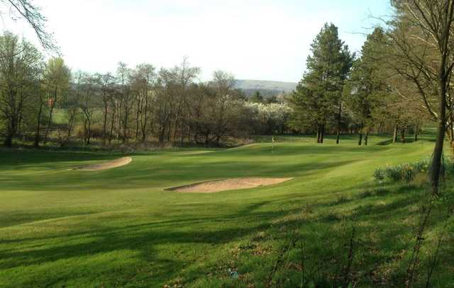 2nd green, Douglas Park Golf Club