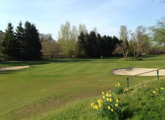 1st green Douglas Park Golf Club