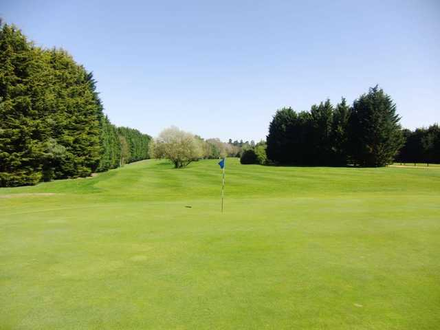A look back from the green at Wexham Park Golf Centre