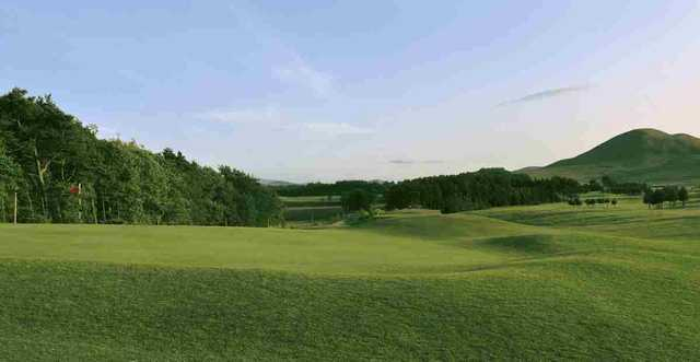 The 18th hole at West Linton Golf Club