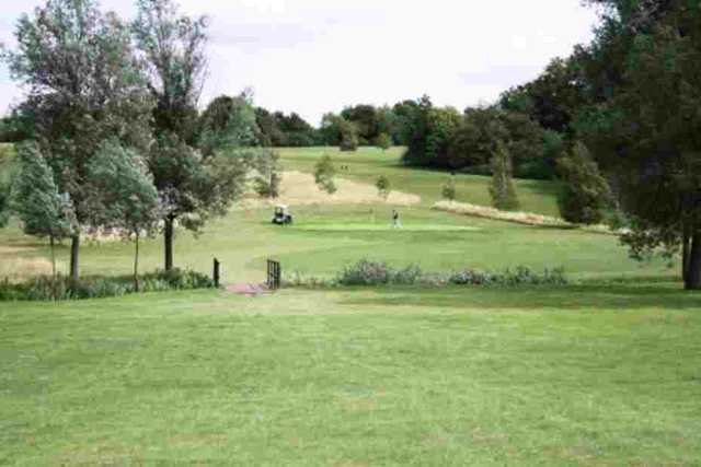 The 3rd hole at Notleys GC