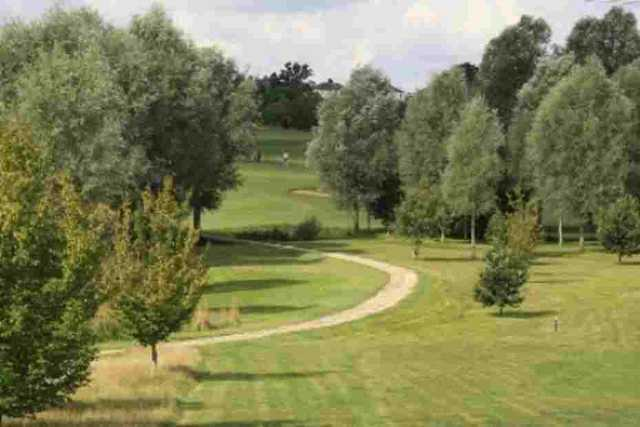 The 4th hole at Notleys GC