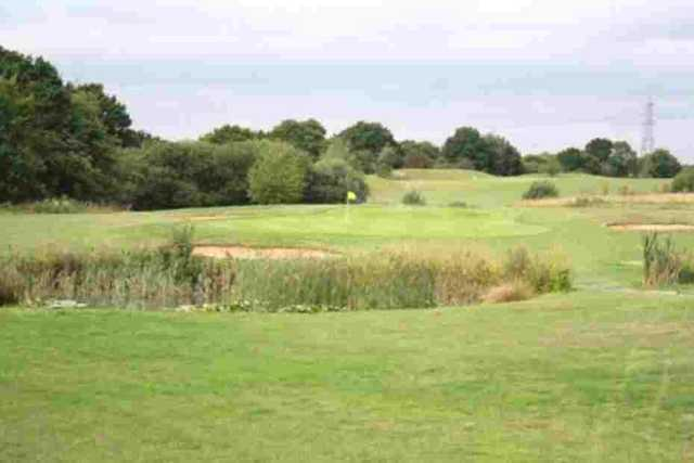 The 15th hole at Notleys GC