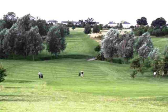 The 10th hole at Notleys GC