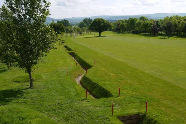 The 4th hole at Thirsk and Northallerton Golf Club