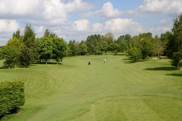 A look at the par-3 8th at Thirsk and Northallerton Golf Course