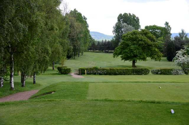 The 9th hole at Thirsk and Northallerton