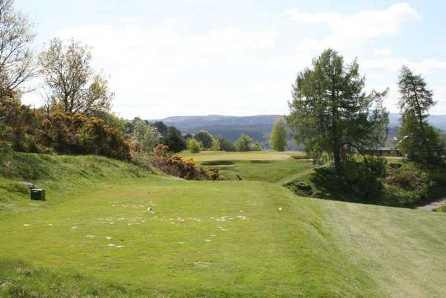 Par 3 at Dunkeld & Birnam Golf Club